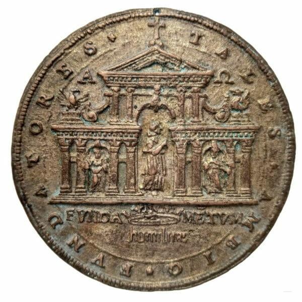 Médaille église San Carlo Rome