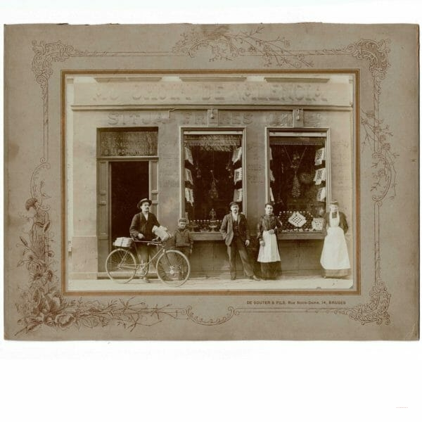 Photographie DE SOUTER & Fils Bruges 1904/1906