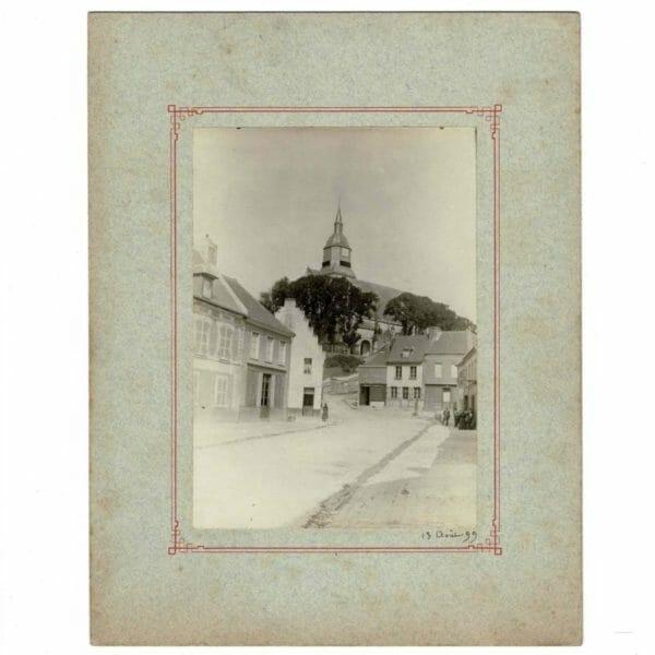 Photographie 1899 Auxi-le-Château