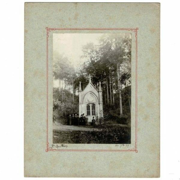 Photographie La chapelle Saint Killien à Warlincourt-lès-Pas 1899