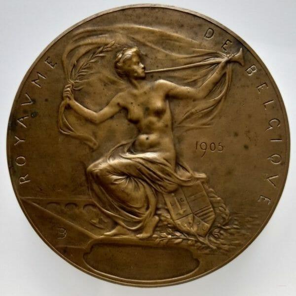 Médaille Exposition Universelle de Liège 1905.