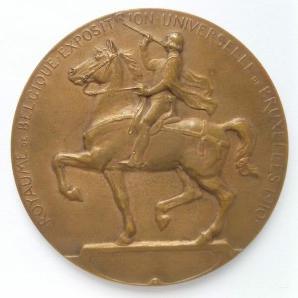 Médaille l'Exposition universelle de BRUXELLES 1910