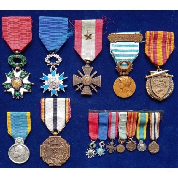 Coffret Médailles Avers
