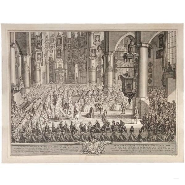 mariage du prince de Nassau-Weilburg