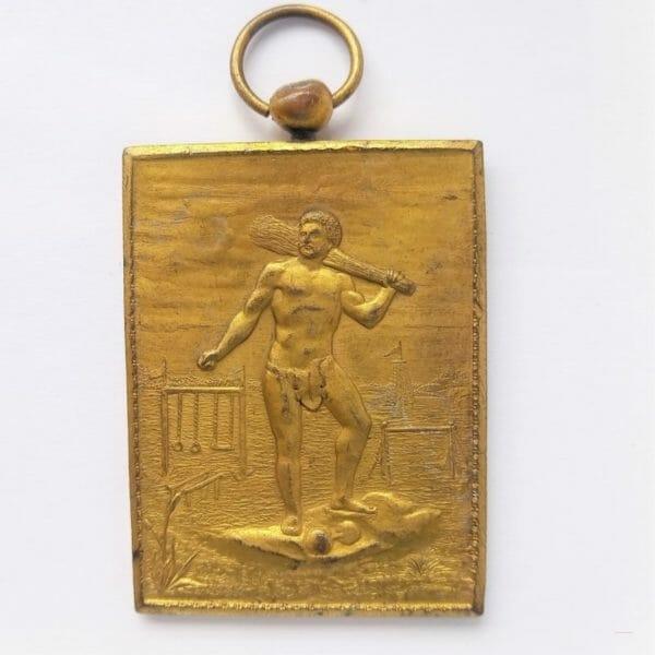 gymnastique MORLANWELZ Belgique 1899