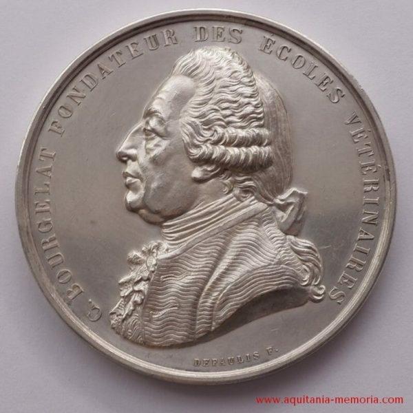 Médaille argent Ecole vétérinaire Toulouse
