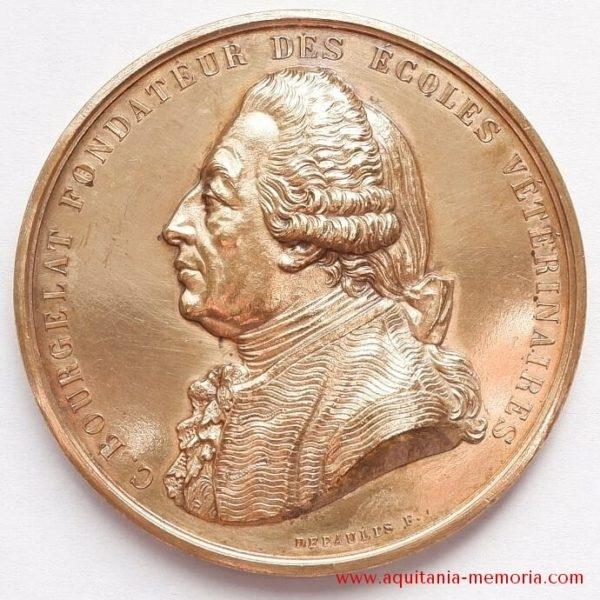 Médaille bronze Ecole vétérinaire Toulouse