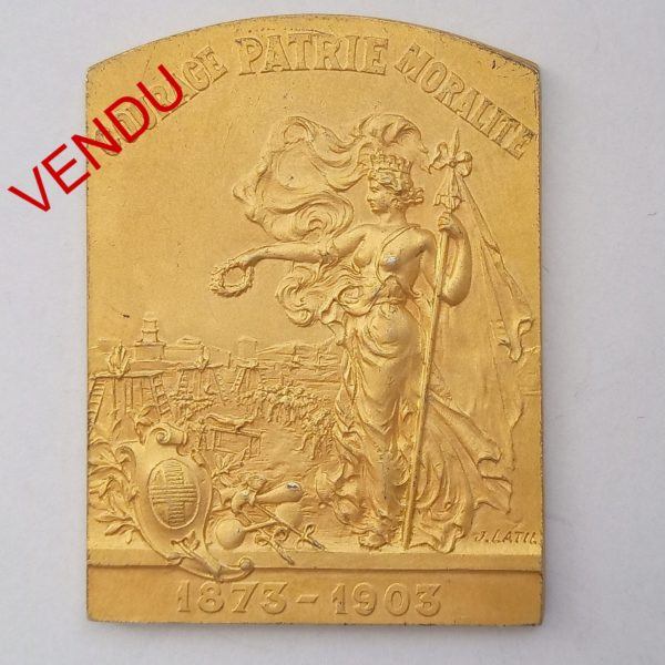 Médaille GYMNASTIQUE MARSEILLE 1903
