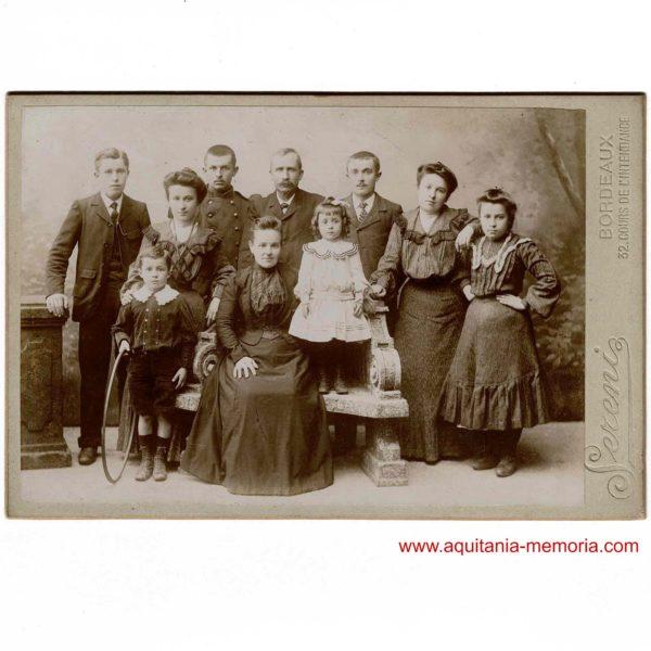 photographie SERENI famille bordelaise