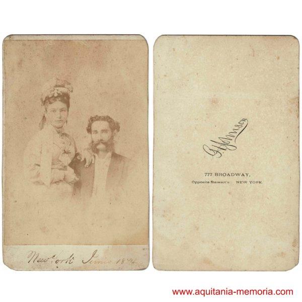 George Howard Johnson New York 1874