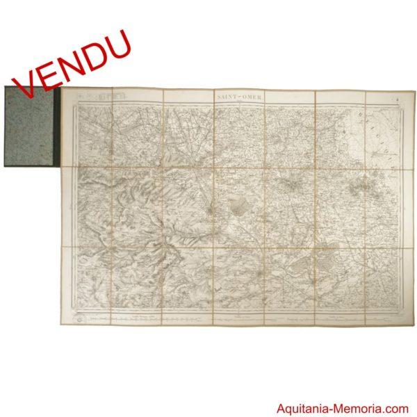 Carte Saint-Omer