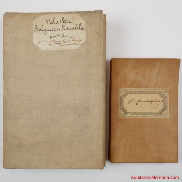 Cartes Général Chasseloup Laubat Guerre Crimée