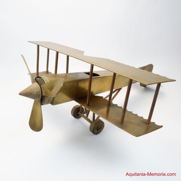Artisanat de tranchée biplan Première Guerre mondiale